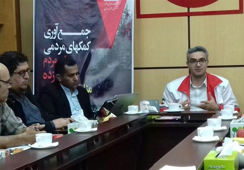 پایگاههای جمعآوری کمکهای مردم مازندران به زلزلهزدگان کرمانشاه مستقر شد
