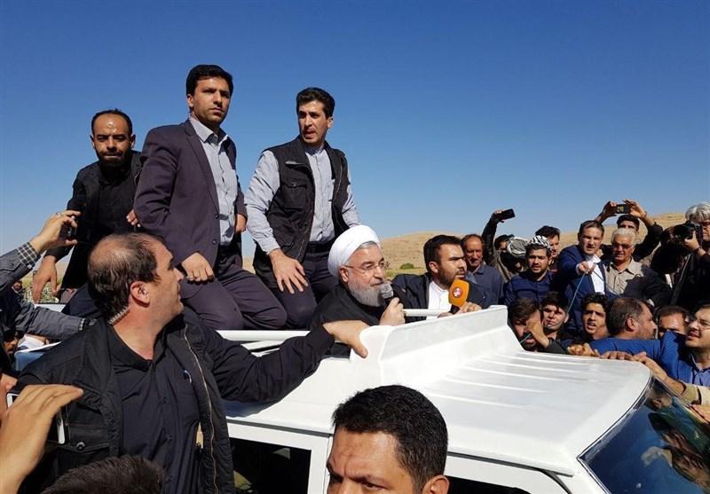 President Pledges Housing Aid for Iran Quake Victims