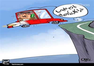 کاریکاتور/ اتهامات پادشاه دست پاچلفتی!!!