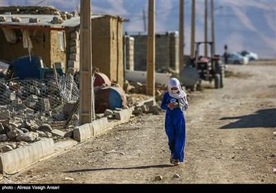 روستاهای زلزله زده اطراف دشت ذهاب