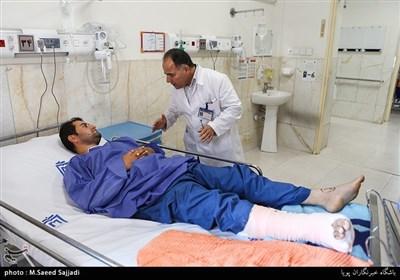 237 مصدوم زلزله کرمانشاه در بیمارستانهای تهران بستری شدند + تصاویر