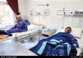 روند درمانی مصدو مان زلزله کرمانشاه در بیمارستان امام خمینی(ره)