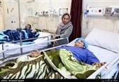 رئیس دفتر رئیس جمهور از مجروحان زلزله عیادت کرد