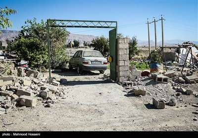 Many Villagers Left with Nothing after Earthquake in West Iran