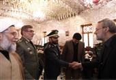دیدار فرماندهان ارتش با لاریجانی + تصاویر