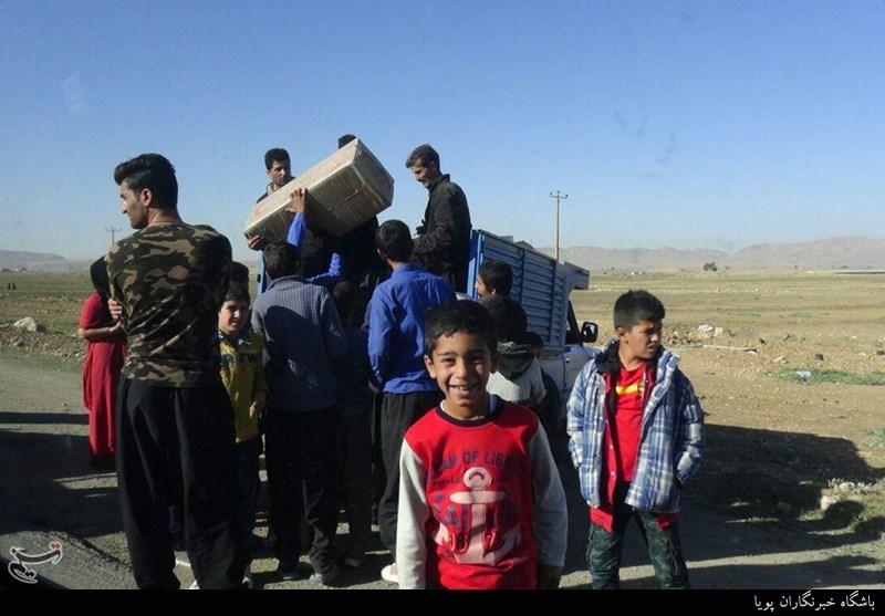 سومین محموله مواد غذایی کمیته امداد همدان به مناطق زلزلهزده ارسال شد