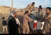 زلزله کرمانشاه|کمکرسانی نیروهای سپاه به زلزلهزدگان + تصاویر
