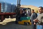 400 هزار بطری آبمعدنی از بخش بشارت الیگودرز به کرمانشاه ارسال شد