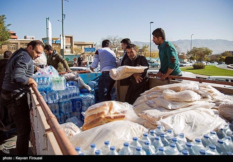 20 هزار قرص نان از اصفهان به مناطق زلزلهزده کرمانشاه ارسال شد