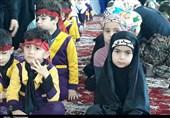 نونهالان حسینی در رشت