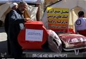 جمعآوری کمکهای مردمی برای زلزلهزدگان در میعادگاههای نماز جمعه + تصاویر