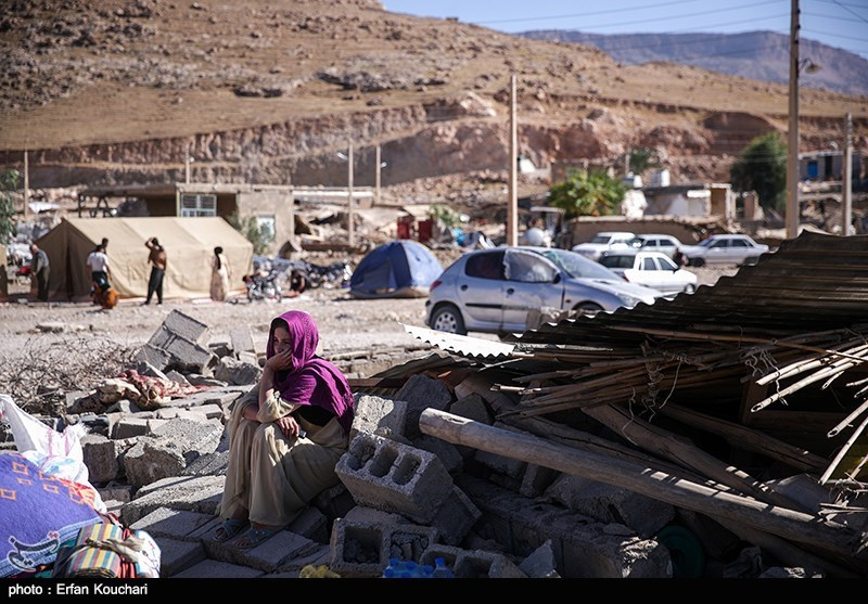 حکایت مهمترین سرویس بهداشتی یک شهر زلزلهزده + تصاویر