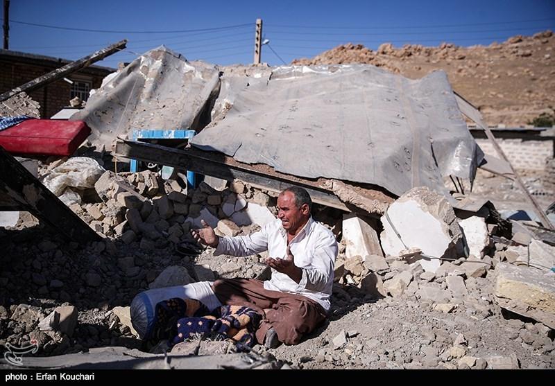 ۴۳۵ نفر در زلزله استان کرمانشاه کشته شدند -  Tasnim