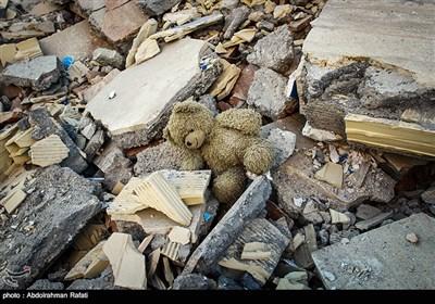 خسارات ناشی از زلزله در سرپل ذهاب
