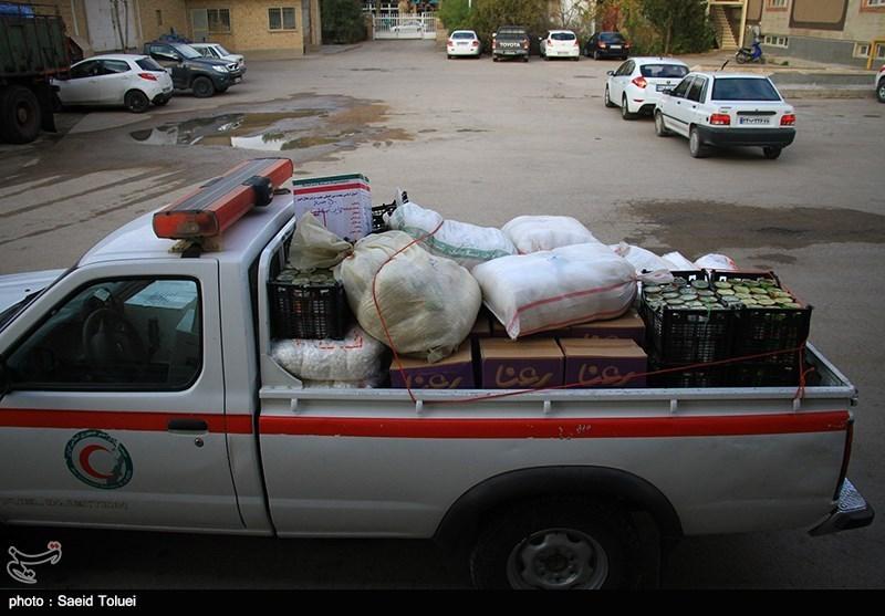 کمکهای نقدی و غیرنقدی مردم نهاوند به مناطق زلزله زده ارسال شد
