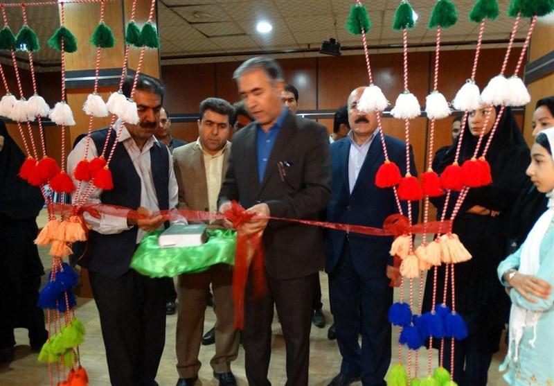 """نخستین نمایشگاه """"گلیم تابلویی"""" در کهگیلویه و بویراحمد برپا شد"""