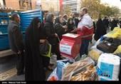 دومین محموله اقلام امدادی جمعیت هلال احمر استان اردبیل به زلزلهزدگان غرب کشور ارسال شد