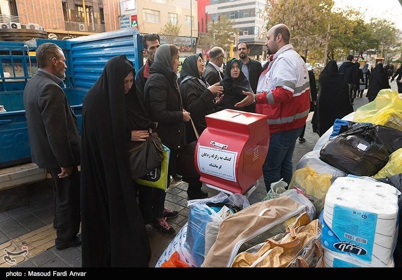 50 پایگاه جمعآوری کمکهای مردمی برای زلزله زدگان در استان قزوین برپا شد