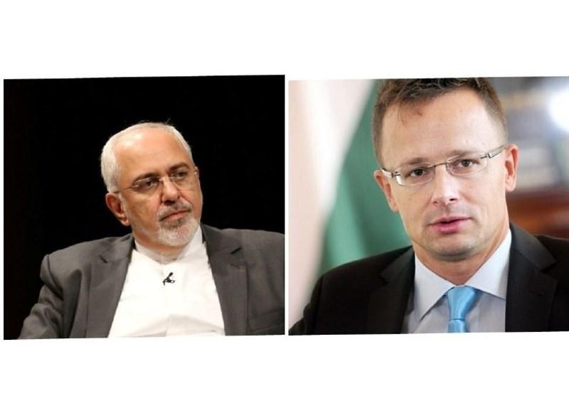 وزرای خارجه ایران و مجارستان تلفنی گفتوگو کردند