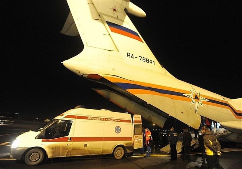 سقوط هواپیمای مسافربری در روسیه با 8 کشته