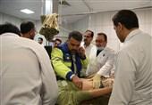 94 مصدوم مناطق زلزله زده کرمانشاه در بیمارستانهای همدان بستری شدند