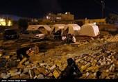 وضعیت نامناسب زلزله زدگان سرپل ذهاب