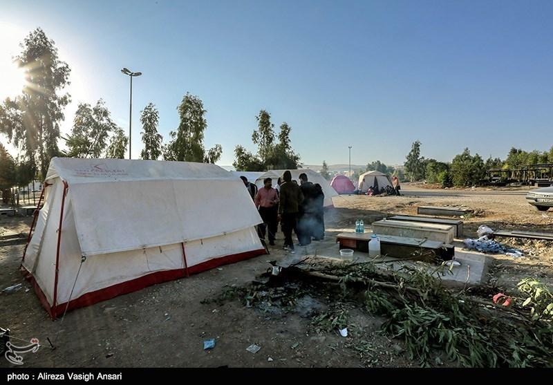 استقرار کمک های پزشکی و دارویی در مناطق زلزله زده