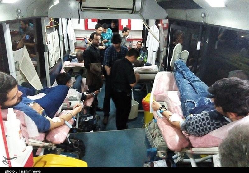 اهداء خون در رشت