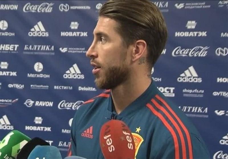 واکنش راموس به شایعه تمایل رونالدو به ترک رئال مادرید