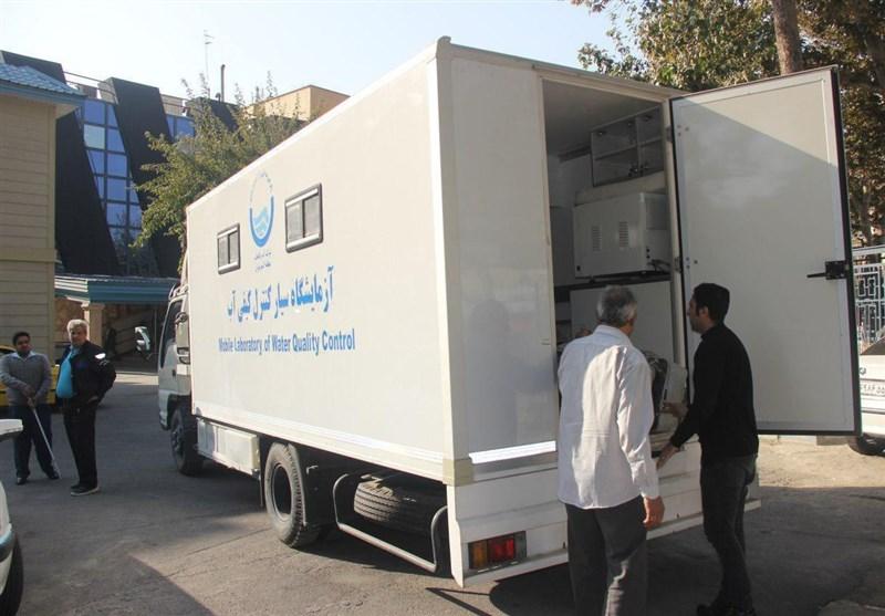 3 دستگاه سامانه آزمایش و کنترل کیفیت آب به کرمانشاه اعزام شد