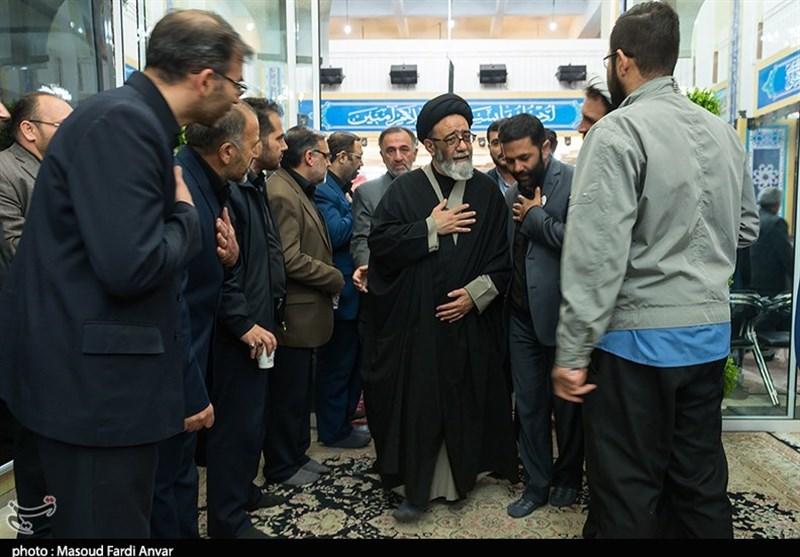 مراسم بزرگداشت شهید مدافع حرم در وادی رحمت تبریز برگزار شد+تصاویر