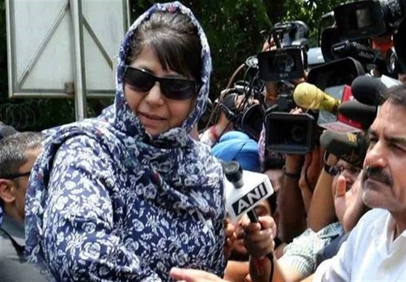مسئلہ کشمیر؛ مودی حکومت عمران خان کی پیش کش قبول کرے، محبوبہ مفتی