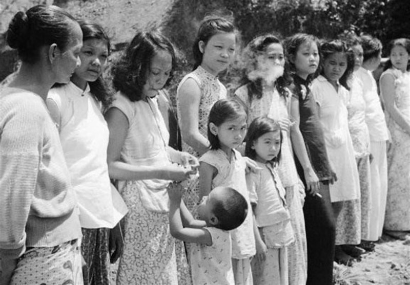 زنان و دختران کرهای از شرّ سربازان آمریکایی در امان نیستند