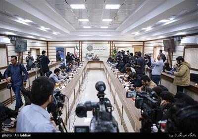 نشست خبری رییس سازمان بسیج