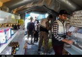 زلزله کرمانشاه| امدادرسانی بیمارستان سپاه در سرپل ذهاب + عکس