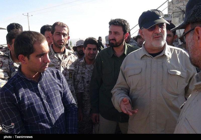 سردار پاکپور در مناطق زلزله زده
