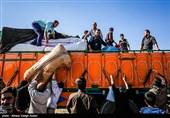 توزیع کمک های مردمی و خدمات درمانی در مناطق زلزله زده