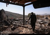 زلزله زدگان روستاهای اطراف سرپل ذهاب