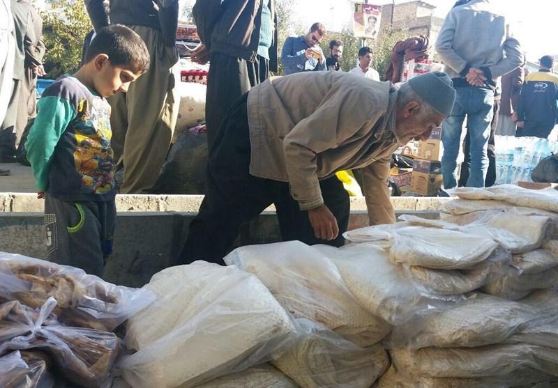 محموله کمکهای مردمی بهزیستی مازندران به کرمانشاه ارسال شد