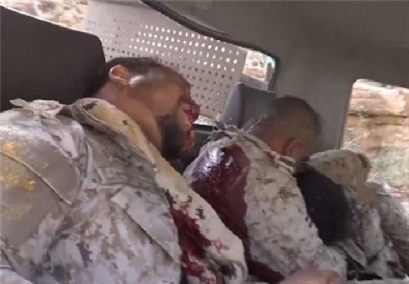مصرع وجرح جنود سعودیین ومرتزقة فی نجران