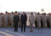 بازدید اردوغان از پایگاه نظامی ترکیه در قطر