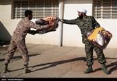 کمک های اهدایی آستان قدس رضوی به مردم زلزله زده روستاهای کرمانشاه