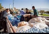 ایران بھر سے زلزلہ متاثرین کیلئے امدادی سامان اور عطیات کا سلسلہ جاری