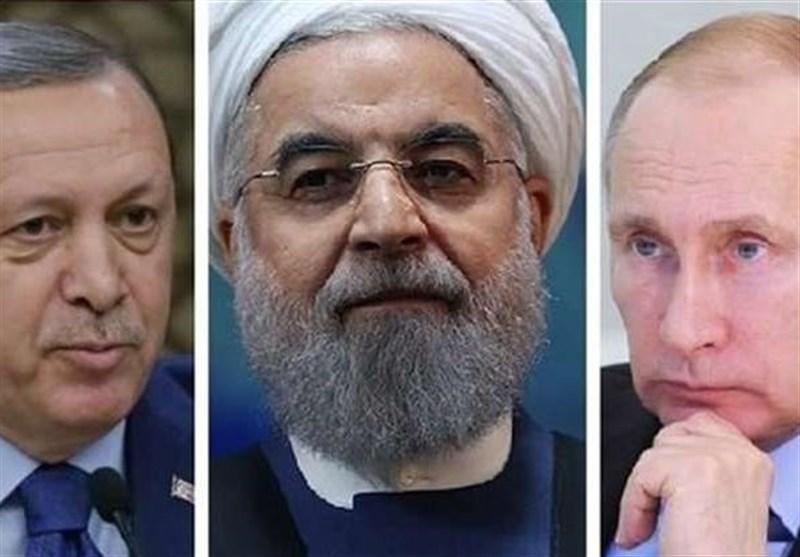 نشست سه جانبه سران ایران، روسیه و ترکیه در شهر سوچی