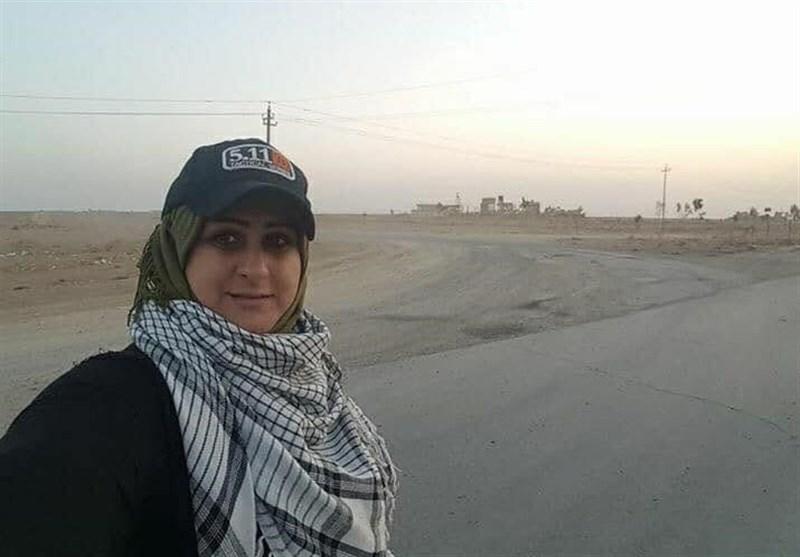 """لحظه شهادت خبرنگار """"حشد الشعبی"""" +عکس"""