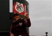 "شهادت اولین خبرنگار زن ""حشد الشعبی"" در عراق +عکس"