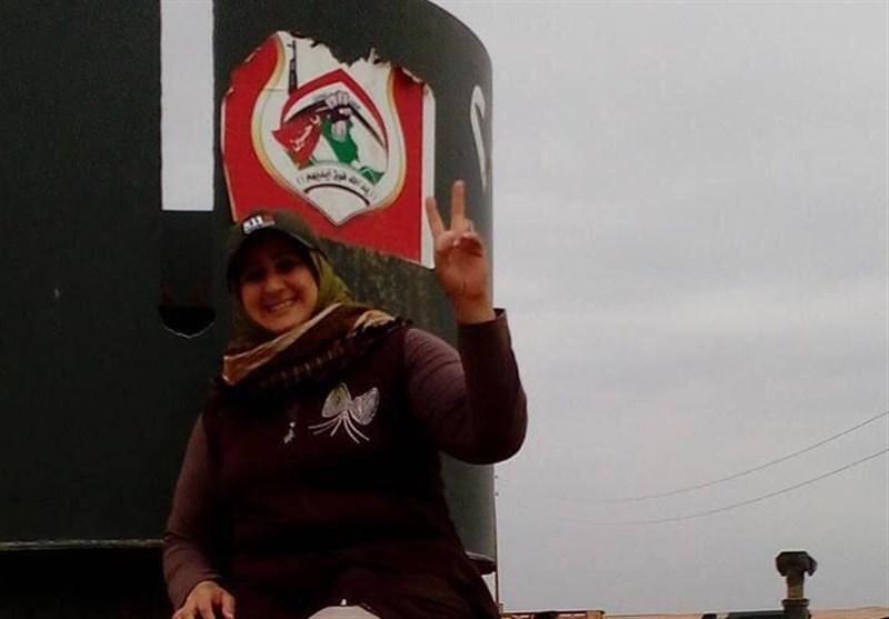 """شهادت اولین خبرنگار زن """"حشد الشعبی"""" در عراق"""