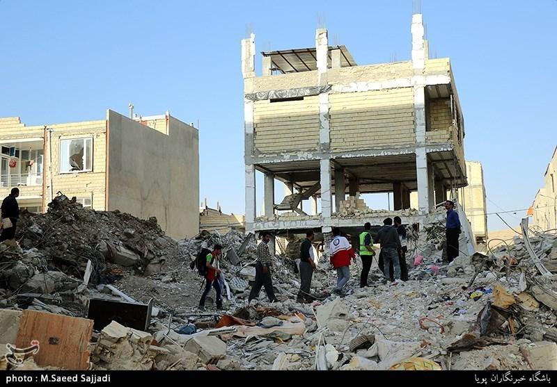 Quake Relief Aid in West Iran Underway on Day 6