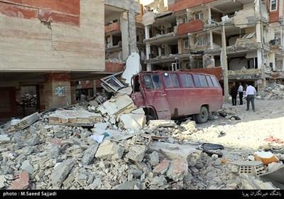 شهرستان سرپلذهاب پنج روز پس از زلزله