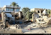 شهرستان ازگله و سرپلذهاب پنج روز پس از زلزله